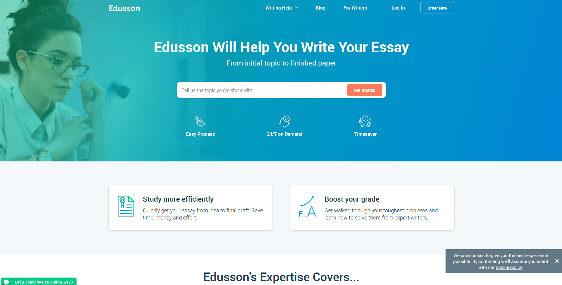 Edusson Writing Service Review by TopEssayCompanies