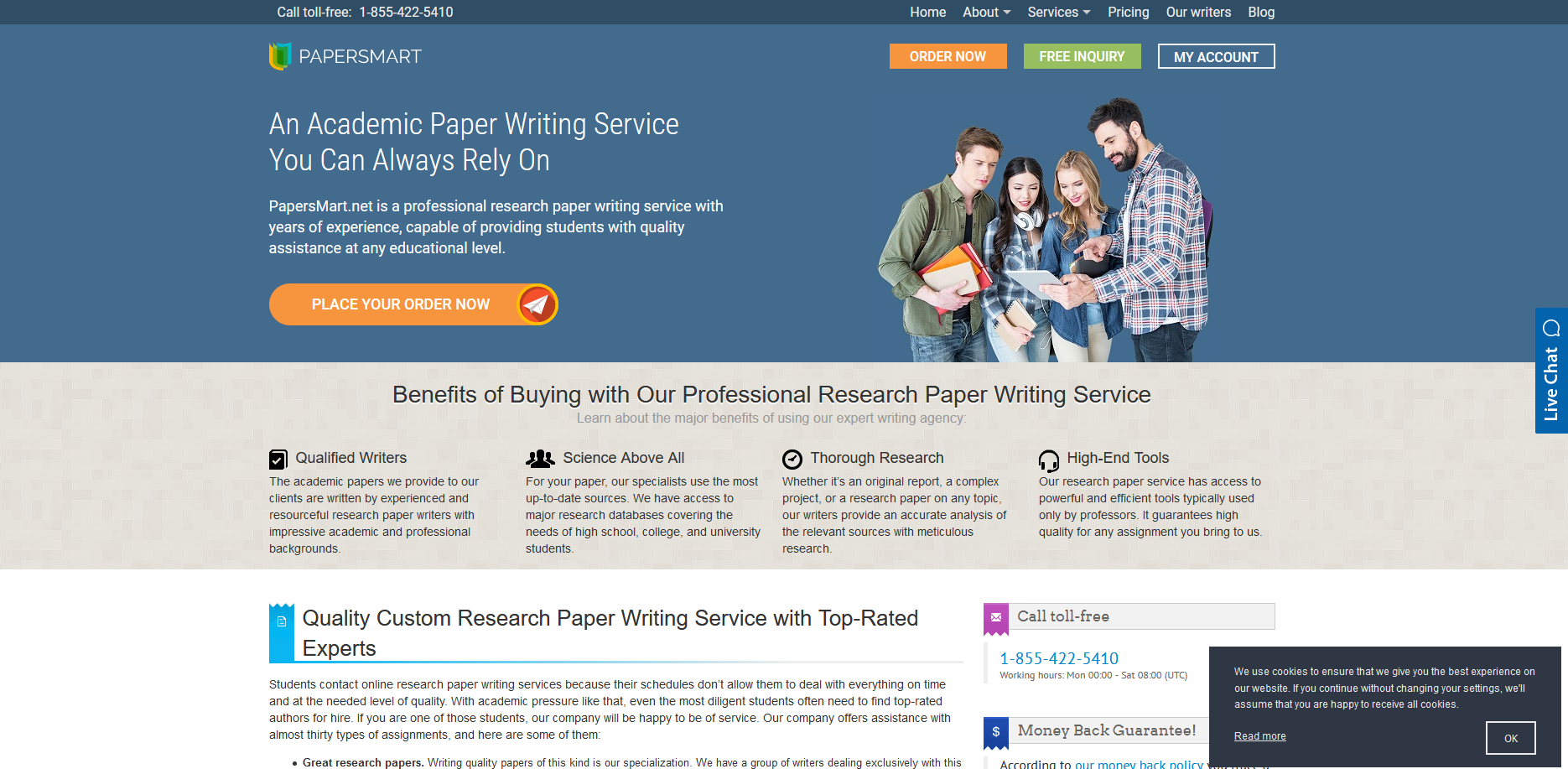 PaperSmart Writing Service Review by TopEssayCompanies