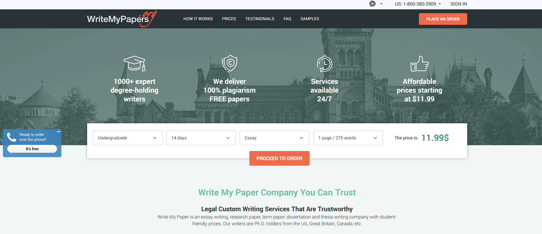 Writemypapers Writing Service Review by TopEssayCompanies